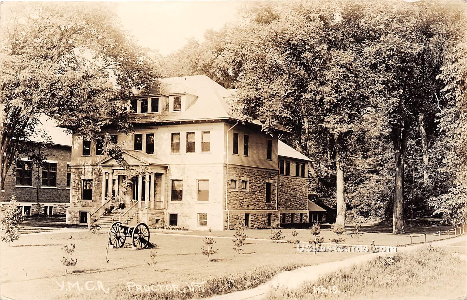 YMCA - Proctor, Vermont VT Postcard