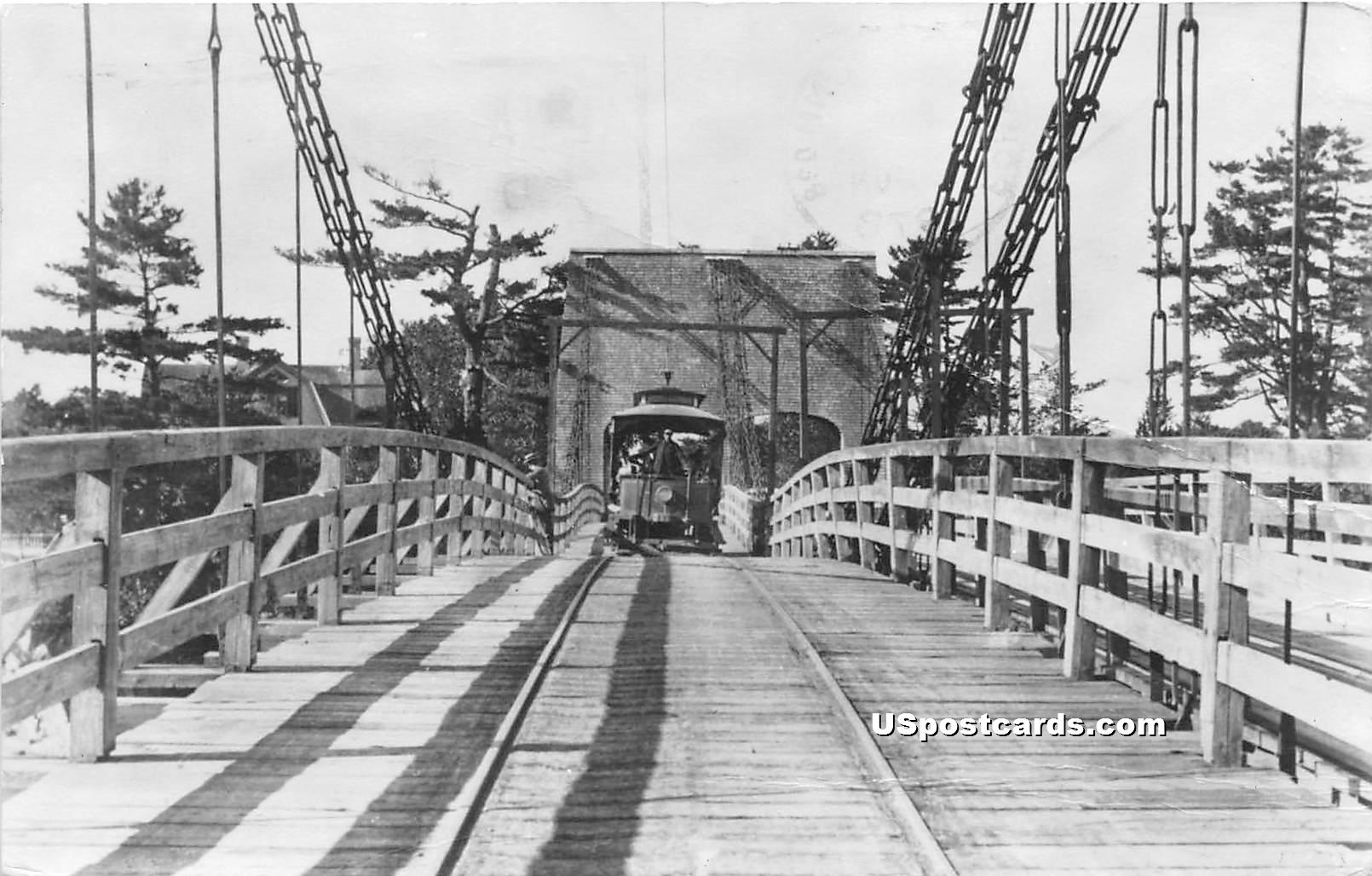 Bridge - Portsmouth, Vermont VT Postcard