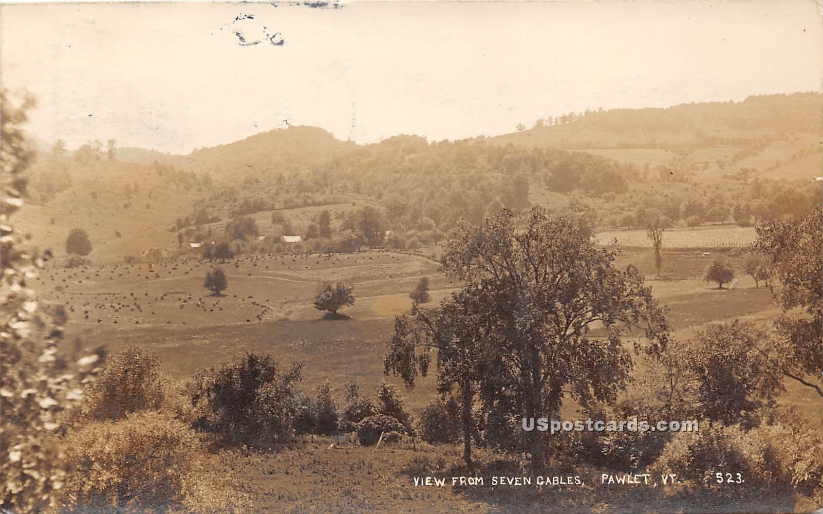 Seven Cables - Pawlet, Vermont VT Postcard