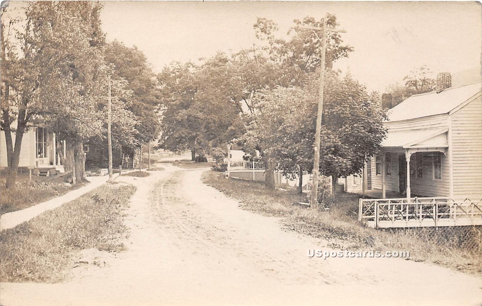 Street Scene - Pawlet, Vermont VT Postcard