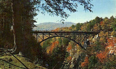 The Bridge - Quechee, Vermont VT Postcard