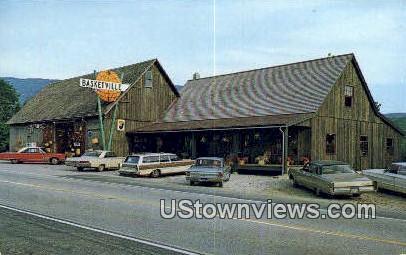 Basket Barn, Basketville - Manchester, Vermont VT Postcard