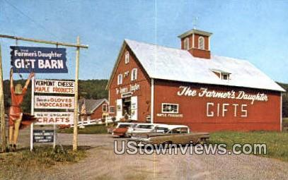 Farmer's Daughter Country Store - St Johnsbury, Vermont VT Postcard