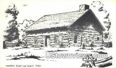 Jedediah Hyde Log Cabin 1783 - Grand Isle, Vermont VT Postcard