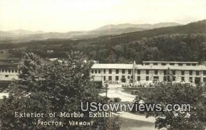 Marble Exhibit - Proctor, Vermont VT Postcard