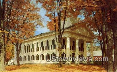 Windham County Court House - Newfane, Vermont VT Postcard