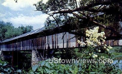 Bethel Covered Bridge - Bradford, Vermont VT Postcard