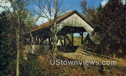 Five Old Covered Bridges - Lyndon, Vermont VT Postcard