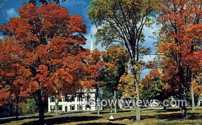 Church in the Country - Misc, Vermont VT Postcard