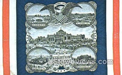Centennial Wuilt, Shelburne Museum - Vermont VT Postcard