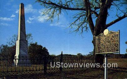 Revolutionary Battle Monument - Hubbardton, Vermont VT Postcard