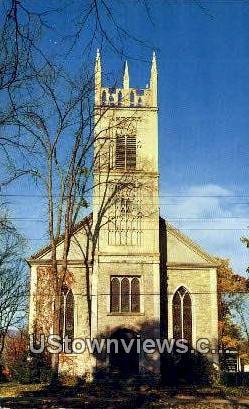 St. James Episcopal Church - Arlington, Vermont VT Postcard