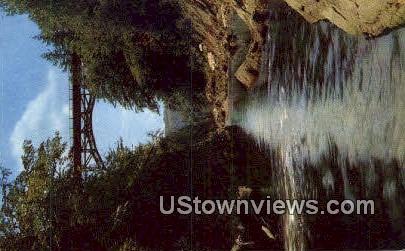 Quechee Gulf Gorge - Deweys Mills, Vermont VT Postcard