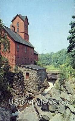 Old Grist Mill - Jericho, Vermont VT Postcard