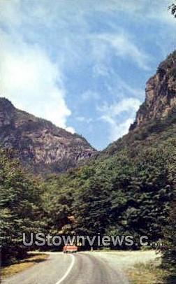 Smuggler's Notch - Mount Mansfield, Vermont VT Postcard