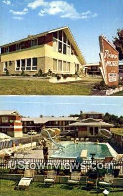 Redwood Motel & Coffee Shop - South Burlington, Vermont VT Postcard