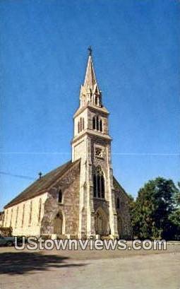 St Bridget's RC Church - West Rutland, Vermont VT Postcard
