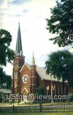 First Baptist Church - Rutland, Vermont VT Postcard