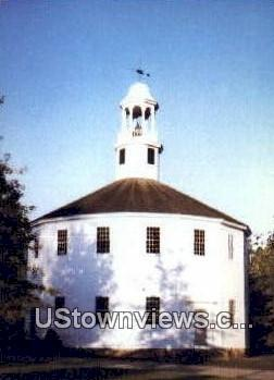 Old Round Church - Richmond, Vermont VT Postcard