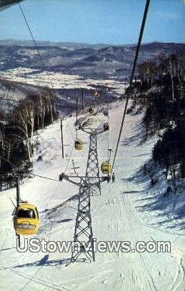 Sugarbush Valley Ski Area - Warren, Vermont VT Postcard