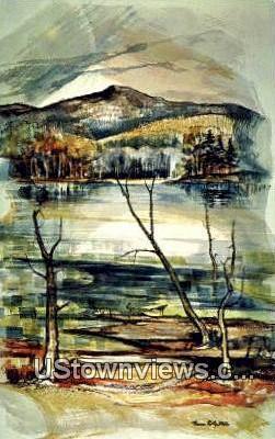 Southern Vermont Art Center - Manchester Postcard