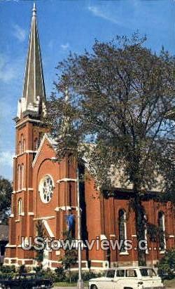 Baptist Church - Rutland, Vermont VT Postcard