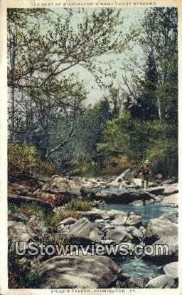 Child's Tavern - Wilmington, Vermont VT Postcard