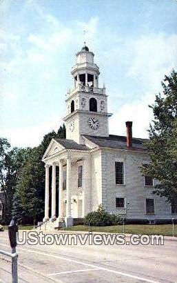 The Old South Church - Windsor, Vermont VT Postcard