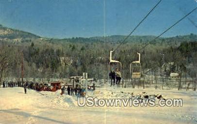 Maple Valley Ski Area - West Dummerston, Vermont VT Postcard