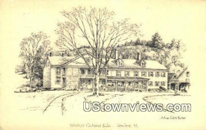 Windham Co Hotel & Jail - Newfane, Vermont VT Postcard