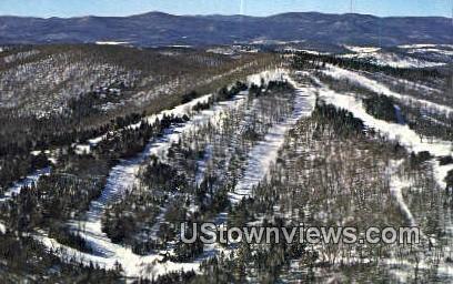 Hogback Mountain Sky Area - Vermont VT Postcard