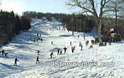 Hogback Mountain Sky Area - Marlboro, Vermont VT Postcard