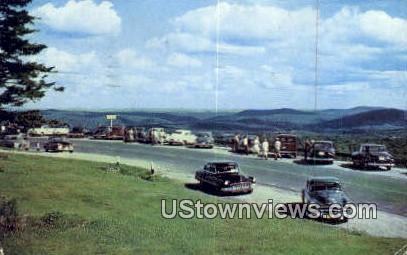 Hogback Mountain, Molly Stark Trail - Marlboro, Vermont VT Postcard