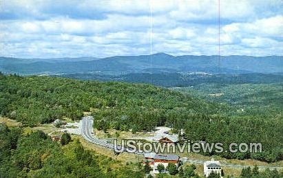 Hogback Mtn - Marlboro, Vermont VT Postcard