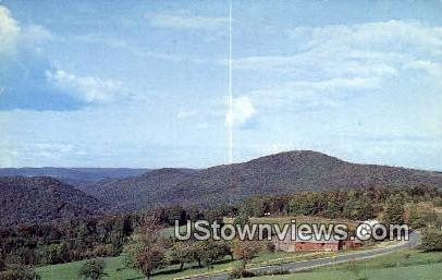 The Cape, Molly Stark Trail - Marlboro, Vermont VT Postcard