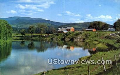 Connecticut River - Wells River, Vermont VT Postcard