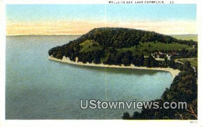 Malletts Bay - Lake Champlain, Vermont VT Postcard