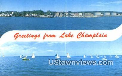 Queen City Park - Lake Champlain, Vermont VT Postcard