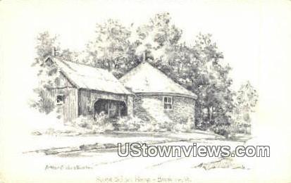 Round School House - Brookline, Vermont VT Postcard