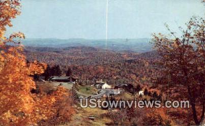Molly Stark Trail - Southern Vermont Postcards, Vermont VT Postcard