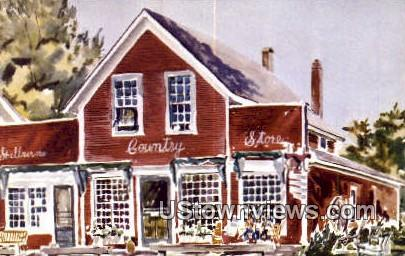 Shelburne Country Store - Vermont VT Postcard