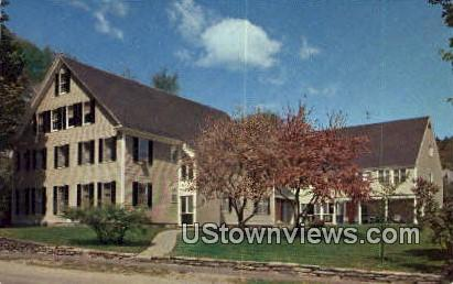 Springtime, Homestead - Woodstock, Vermont VT Postcard