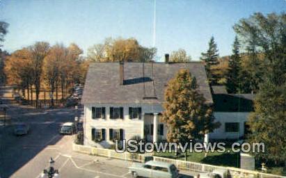 White Cupboard Inn & The Green - Woodstock, Vermont VT Postcard