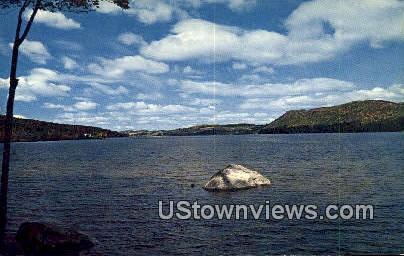 Crystal Lake - Bartonsville, Vermont VT Postcard