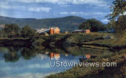 Connecticut River, VT     ;     Connecticut River, Vermont Postcard