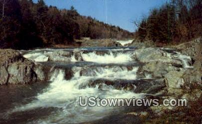 Rapids - Ottauquechee River, Vermont VT Postcard