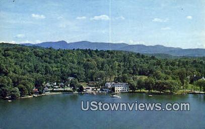 Trackenseen - Edgewater Bomoseen, Vermont VT Postcard