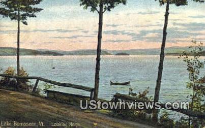 Lake Bomoseen, Vermont      ;     Lake Bomoseen, VT Postcard