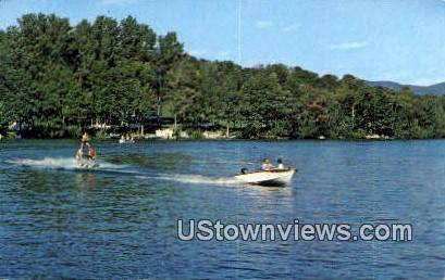 Water Skiing - Lake Bomoseen, Vermont VT Postcard