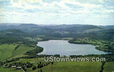 Parker Lake - Barton, Vermont VT Postcard